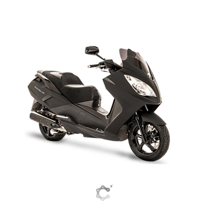 C Mobilités : offre spéciale sur le scooter Satelis 125 Black édition.