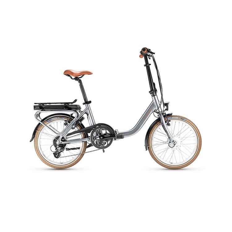 À la recherche d'un vélo facilement transportable ? Découvrez l'e-NOMAD de chez Gitane. Disponible chez C Mobilités.