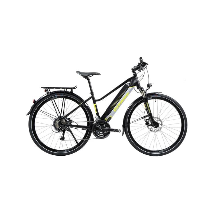 À la recherche d'un vélo électrique mixte équipé ? Découvrez l'e-VERSO série Silex de chez Gitane dans notre boutique C Mobilités.
