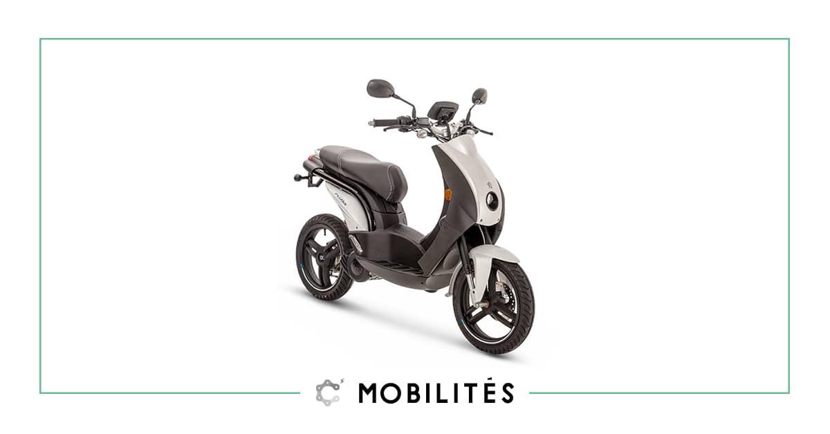 À la recherche d'un scooter urbain électrique ? Découvrez l'e-Ludix de chez Peugeot Motocycles disponible chez C Mobilités.