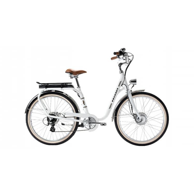 À la recherche d'un vélo électrique au look vintage ? Découvrez l'eLC01 de chez Peugeot Cycles dans notre boutique, située à Chambéry.