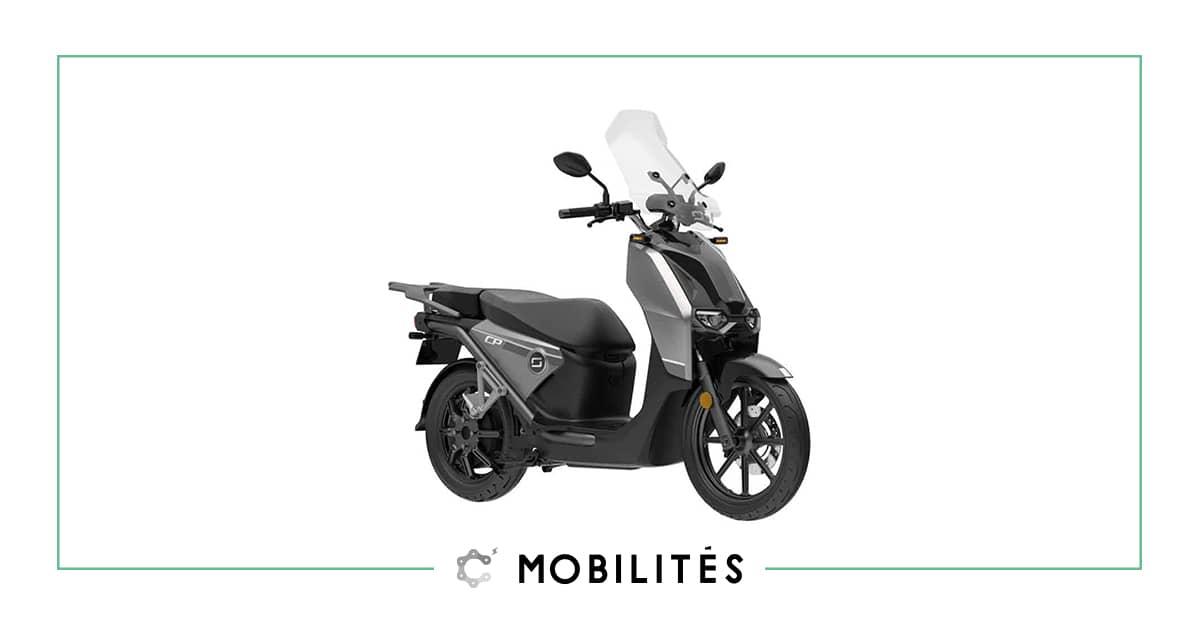 À la recherche d'un scooter électrique ? Découvrez le CPx de chez Super Soco disponible chez C Mobilités.