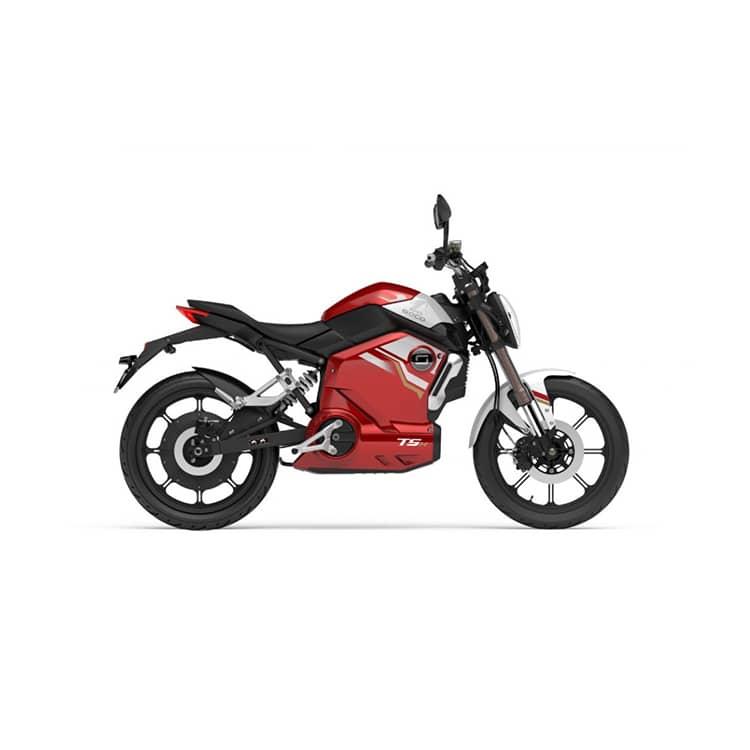 À la recherche d'une moto électrique ? Découvrez la TSx de chez Super Soco disponible chez C Mobilités.