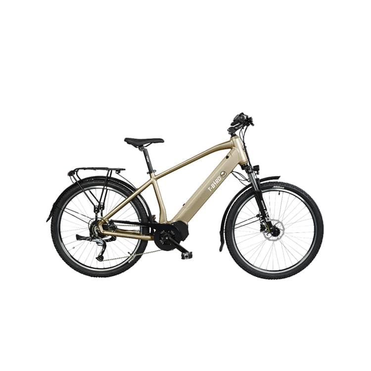 À la recherche d'un vélo électrique polyvalent ? Découvrez le Golden Gate de chez T-Bird dans notre boutique C Mobilités, située à Chambéry.